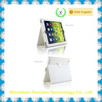 Brand new colorful high quality pu leather ultra thin case for iPad Air