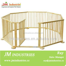 wood pet playpen