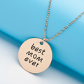 Best Gift Mother Day Alloy Custom Letter Necklace