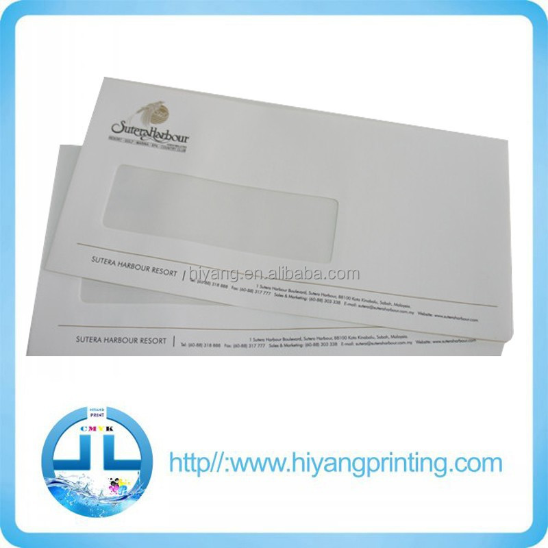 custom design gold stamp envelope