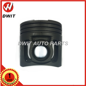 Hot 6D140 Diesel Engine Parts Phosphating Piston 140mm