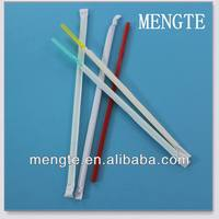 high quality decorative hard clear plastic drinking straw wrap paper