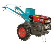 Brand new diesels 12HP driving hand walking tractors with disc plough