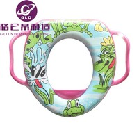 GLD china manufacture hot sale cute Baby Children Toddler Toilet Potty Training Seat Soft Padded & Handles