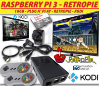 Raspberry Pi 3 RetroPie Game Console