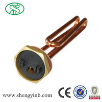 Electric water heater parts type electric copper water heater tubing with anodes carrier