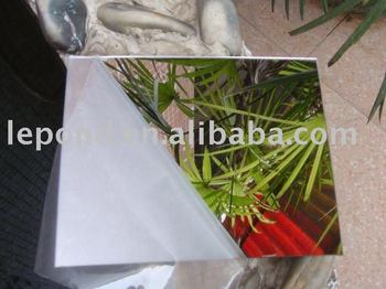 Hot sell 2MM-6MM half mirror glass/one way silver mirror