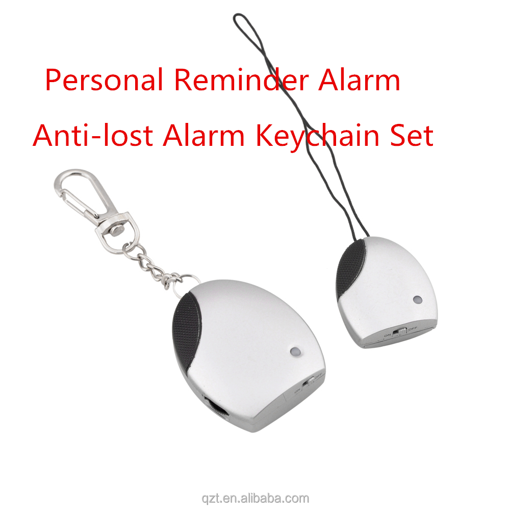 Wireless Portable Anti-Lost/Anti-Theft alarm Safety Security Personal Reminder Alarm Keychain Set