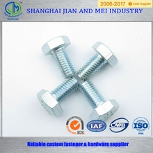 m8 chrome plated heavy hex bolt dimensions