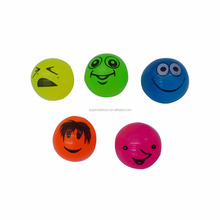 5170629-76 promotional emoji bouncing ball, Solid colorful toy bouncy ball
