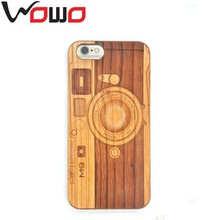 Mobile phone accessories,genuine wood grain wooden phone case for iphone 6 case
