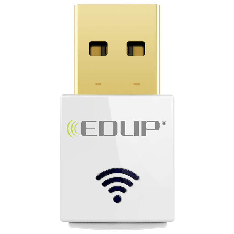 EDUP USB wireless Wifi Adapter Dual Band 2.4Ghz/5Ghz 600Mbps 802.11AC Wifi Network Adapter