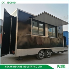 New High Quality food cart stall mobile restaurant mobile hotdog cart