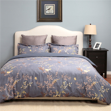 Custom Vintage Printing Bedroom Duvet Cover Set Bedding Set for Home and Hotel
