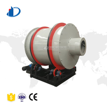 New condition and limestone drum type small scale rotary dryer hot sale silica sand rotary dryer
