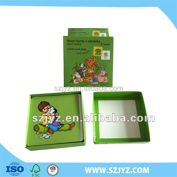 student learning card gift sets /learning cards gift sets