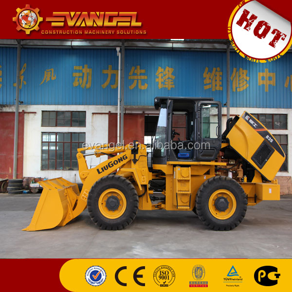 Liugong 3 ton Wheel Loader CLG835 for sale