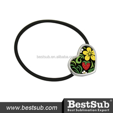 Personalized Heart Shape Hair Bands with Sublimation Printing