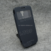 High Quality Power Battery Case for Samsung Galaxy S4 mini with flip cover 2600mAh , made in China