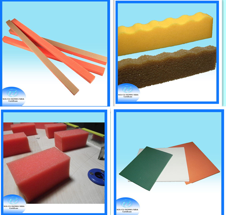 17*20*1000 mm Sponge for Rotary Die