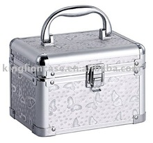 small cosmetic case Butterfly tattoos professional makeup box