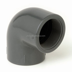 pvc pipe fitting three way 22.5 degree elbow pipe fitting