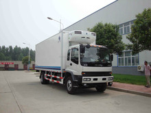 cummins engine Japan refrigerated food transportation trucks/refrigerator freezer truck/refrigerated trucks for sale