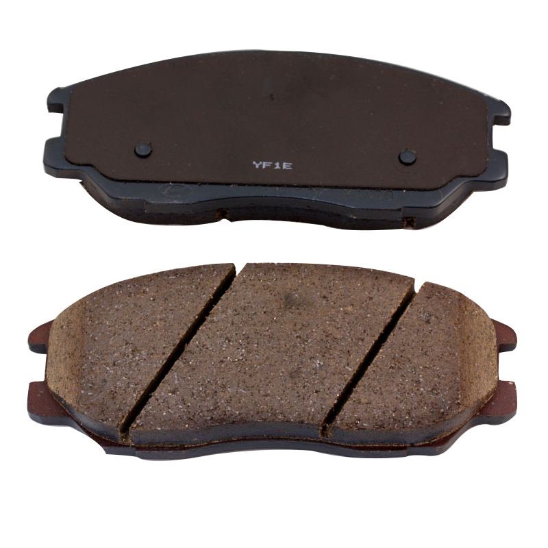 Sintered brake pad with standard weight
