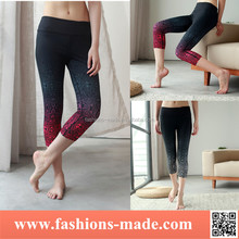 High Quality Women Yoga Capri Leggings Pants