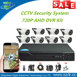 Top 10 H.264 Standalone 720P 8CH AHD DVR Kit CCTV Complete Cameras Security Set