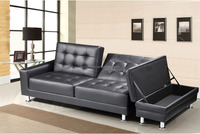 ikea folding sofa bed /sofa cum bed with storage ottoman
