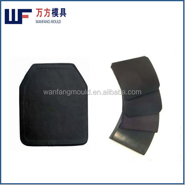 China taizhou compression body armor vest plate mould