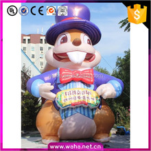 Advertising giant customized inflatable event squirrel cartoon