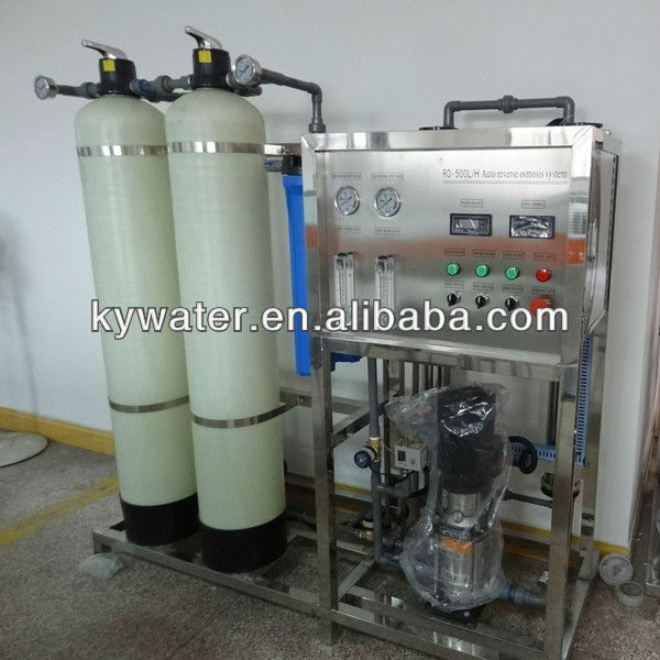 Factory Price CE Approved KYRO-500LPH electroplating water treatment system