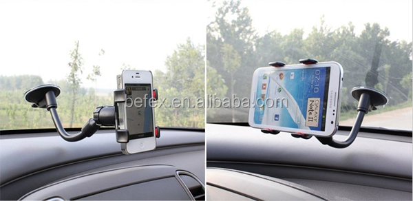 High Quality Car Windscreen Suction Mount Holder Fits Various Phones GPS S4 S5