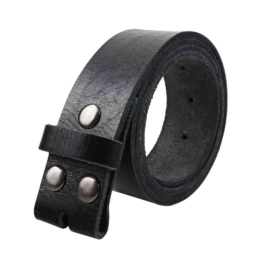 "NPET BZ020 Genuine Leather <strong>Belts</strong> for Men, Full Grain Leather <strong>Belt</strong> Strap 1.5"" Wide Black 29-42 inch"