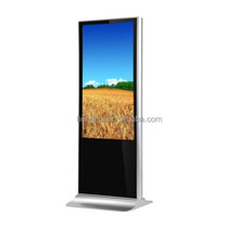 55 Inch OEM Commercial Kiosk HD IR Touch LCD Ad