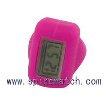 Custom different types of digital finger ring watch
