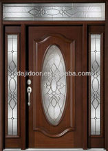 Oval Glass Entry Doors With Side Lites DJ-S9302MSTHS