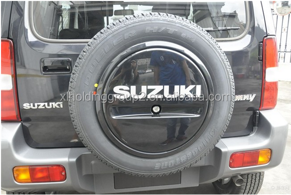 Suzuki jimny spare tire cover 4 4 accessories buy suzuki for Housse requirements