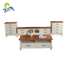 Size standard solid wood tv cabinets wall units
