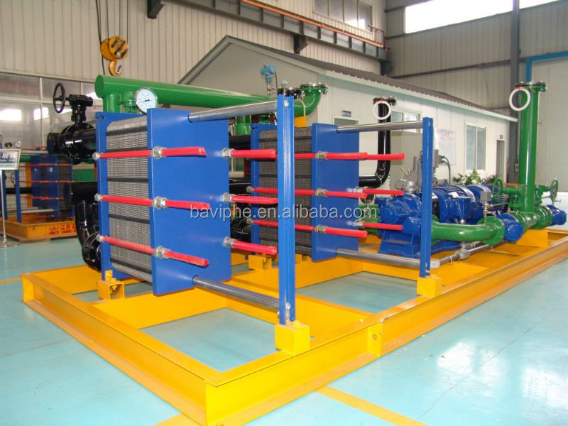 BAVI Gakseted Heat Exchanger,Plate Type Swimming Pool Heat Pump