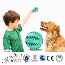 [Grace Pet] Dental teeth cleaning dog rubber ball