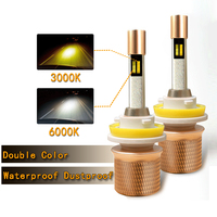 50W 5500lm Dual Color Car LED