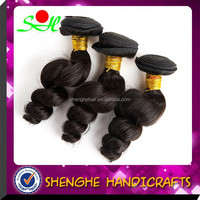 hot selling virgin brazilian hair in mozambique loose wave human hair extension