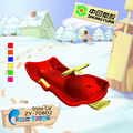 2013 cartoon kids winter outdoor sled
