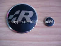 45mm brass soft enamel color filling car emblem