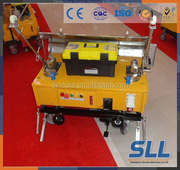 automatic wall plastering machine in india