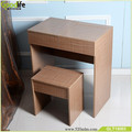 Modern dressing table with mirrors incl. Stool,PVC with E1 MDF