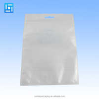 factory custom printed ziplock/zipper pearlised plastic bag for battery chargers